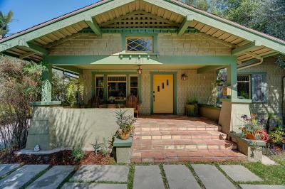 Pasadena Single Family Home For Sale: 254 South Bonnie Avenue