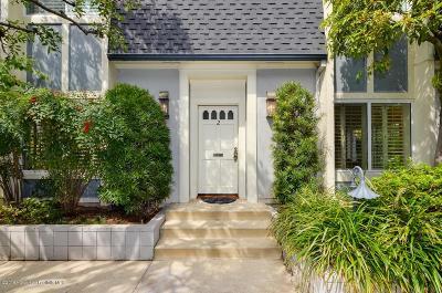Pasadena Condo/Townhouse For Sale: 1045 South Orange Grove Boulevard #2