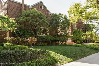 Pasadena Condo/Townhouse For Sale: 209 South Oakland Avenue #G