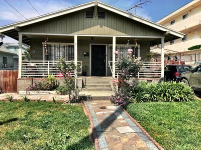Los Angeles County Single Family Home For Sale: 803 North Kingsley Drive