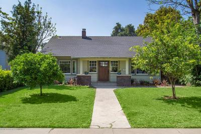 South Pasadena Single Family Home For Sale: 1915 Mission Street