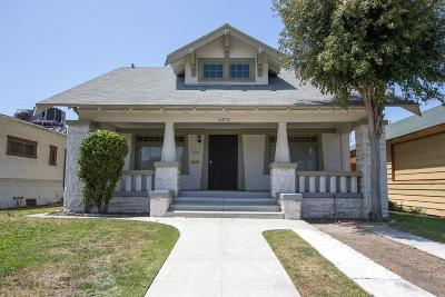 Los Angeles Single Family Home For Sale: 3813 South Hobart Boulevard