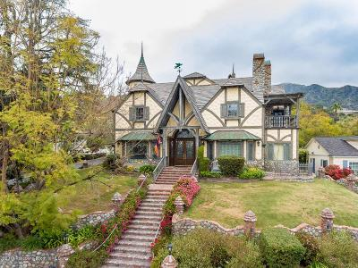 Los Angeles County Single Family Home For Sale: 604 South Sunset Canyon Drive