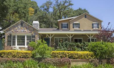 Glendale Single Family Home For Sale: 1447 Hillside Drive