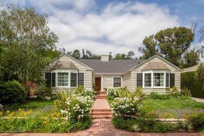Pasadena Single Family Home For Sale: 361 Rosita Lane