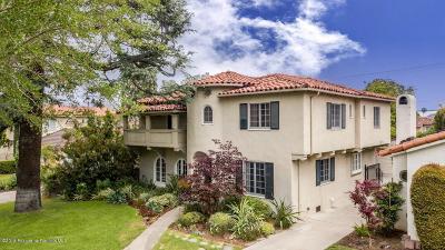 San Marino Single Family Home For Sale: 2734 Carlaris Road