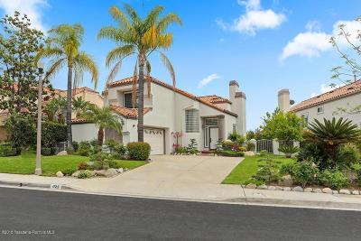 Glendale Single Family Home For Sale: 925 Calle Del Pacifico