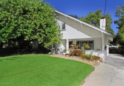 Pasadena Single Family Home For Sale: 992 North Mar Vista Avenue