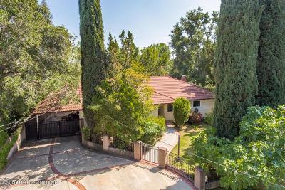 Sierra Madre Single Family Home For Sale: 238 Manzanita Avenue