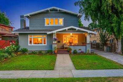 Pasadena Single Family Home For Sale: 702 Earlham Street