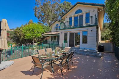 Glendale Single Family Home For Sale: 3160 Vista Del Mar Drive