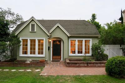 Pasadena Single Family Home For Sale: 2000 Brigden Road