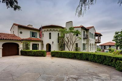 Pasadena Single Family Home For Sale: 1812 Linda Vista Avenue