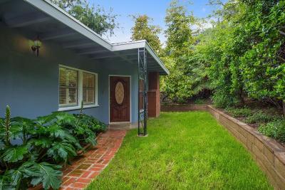Sierra Madre Single Family Home For Sale: 642 Skyland Drive