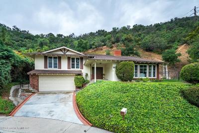 Glendale Single Family Home For Sale: 3611 Mesa Lila Lane
