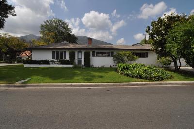 Arcadia Single Family Home For Sale: 1630 North Santa Anita Avenue