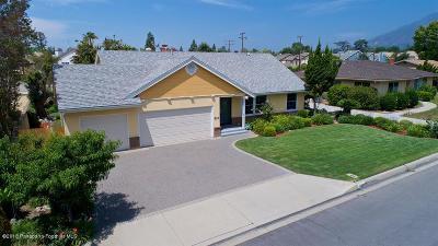 Arcadia Single Family Home For Sale: 823 Wigwam Avenue