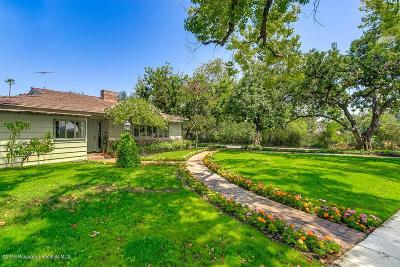 South Pasadena Single Family Home For Sale: 618 Arroyo Drive