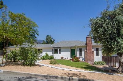 Sierra Madre Single Family Home For Sale: 470 Auburn Avenue