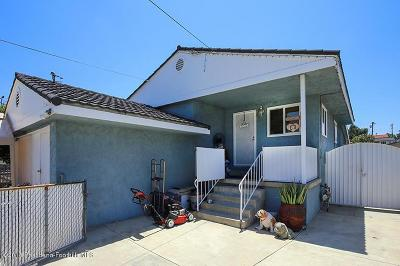 Sunland Single Family Home For Sale: 8614 Wentworth Street