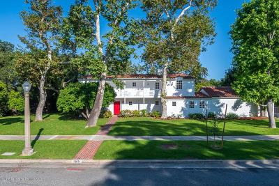 San Marino Single Family Home For Sale: 1060 Roanoke Road