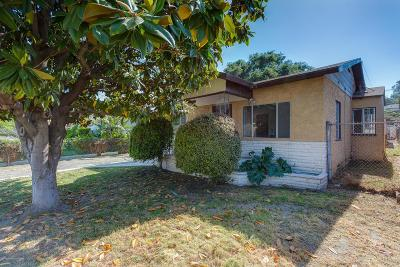 Los Angeles Single Family Home For Sale: 3531 El Sereno Avenue