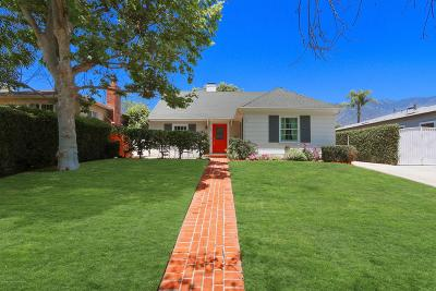 Pasadena Single Family Home For Sale: 2353 East Mountain Street