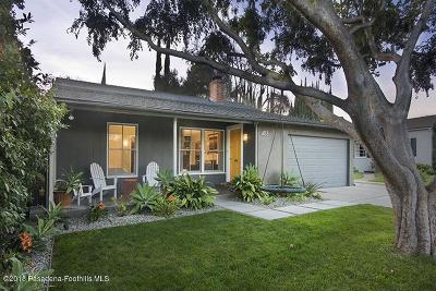 Pasadena Single Family Home For Sale: 453 South Carmelo Avenue