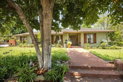 Pasadena Single Family Home For Sale: 2051 East Woodlyn Road