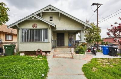 Los Angeles Single Family Home For Sale: 524 South Grande Vista Avenue