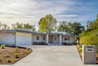 Sierra Madre Single Family Home For Sale: 2065 Liliano Drive