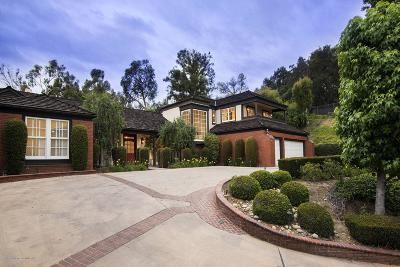 San Marino Single Family Home For Sale: 1205 Patton Way