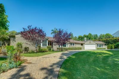 Los Angeles County Single Family Home For Sale: 1253 Sierra Madre Villa Avenue