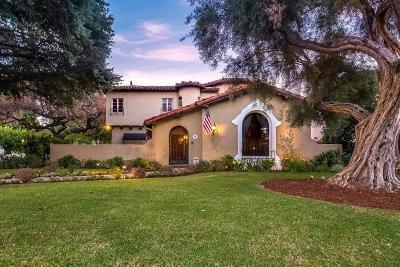 San Marino Single Family Home For Sale: 1796 Saint Albans Road