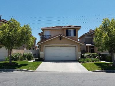 Castaic Single Family Home For Sale: 30426 Daisy Court #27