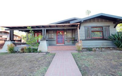 Pasadena Single Family Home For Sale: 1941 Juanita Avenue