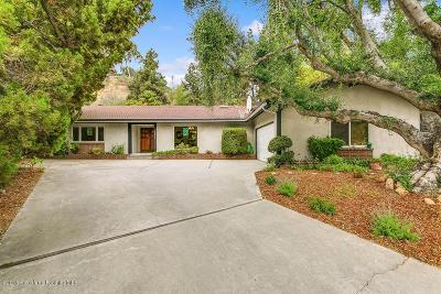 South Pasadena Single Family Home For Sale: 1854 La Manzanita Street