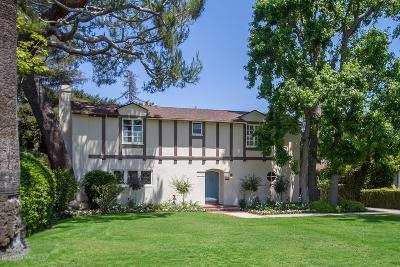 San Marino Single Family Home For Sale: 1430 San Marino Avenue
