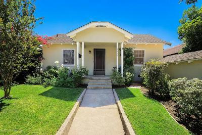 Pasadena Single Family Home For Sale: 1318 North Sierra Bonita Avenue