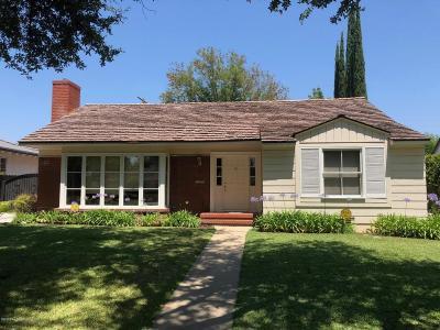 San Marino Single Family Home For Sale: 1360 Bradbury Road
