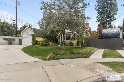 Monrovia Single Family Home For Sale: 404 Holly Avenue
