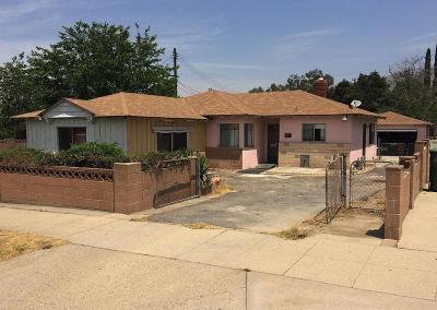 Sunland Single Family Home For Sale: 8025 Apperson Street