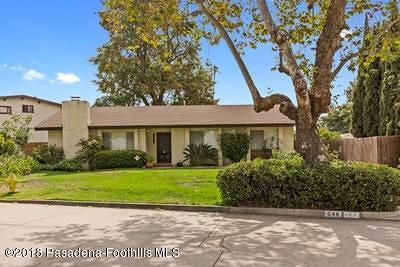 South Pasadena Single Family Home For Sale: 648 Arroyo Drive