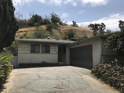 Los Angeles Single Family Home For Sale: 4230 Monterey Road