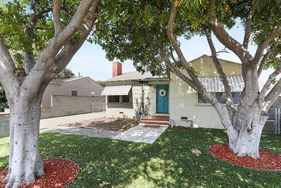 Burbank Single Family Home For Sale: 914 North Buena Vista Street