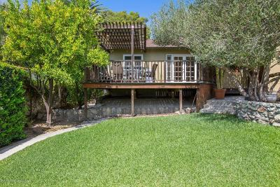 Sierra Madre Single Family Home For Sale: 321 North Mountain