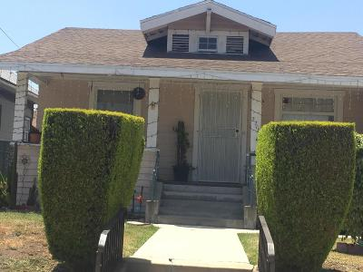 Los Angeles Single Family Home For Sale: 2716 Mozart Street