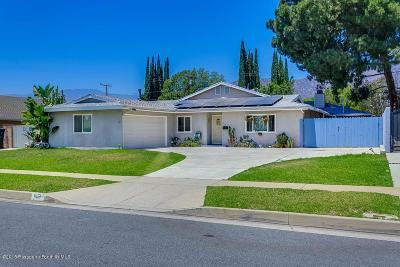 Glendora Single Family Home For Sale: 809 West Heber Street