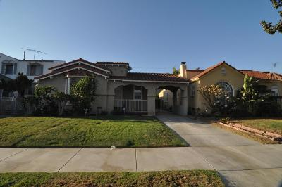 Los Angeles Single Family Home For Sale: 1063 West 81st Street