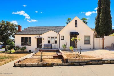 Los Angeles Single Family Home For Sale: 1200 Blue Hill Road